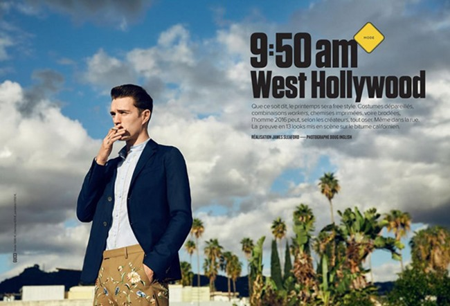 GQ FRANCE Josh Beech by Doug Inglish. James Sleaford, Spring 2016, www.imageamplified.com, Image Amplified (2)