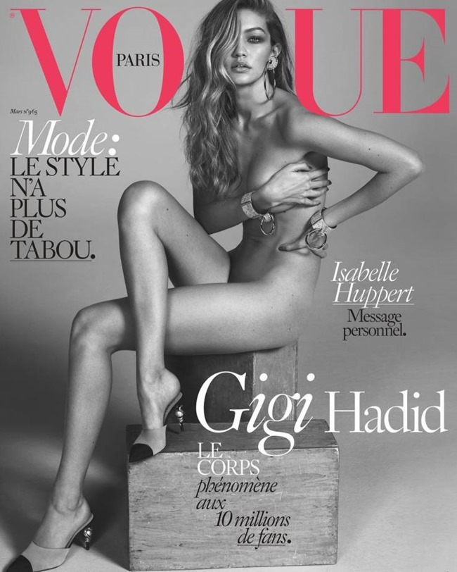VOGUE PARIS Gigi Hadid by Mert & Marcus. Emmanuelle Alt, March 2016, www.imageamplified.com, Image Amplified (2)