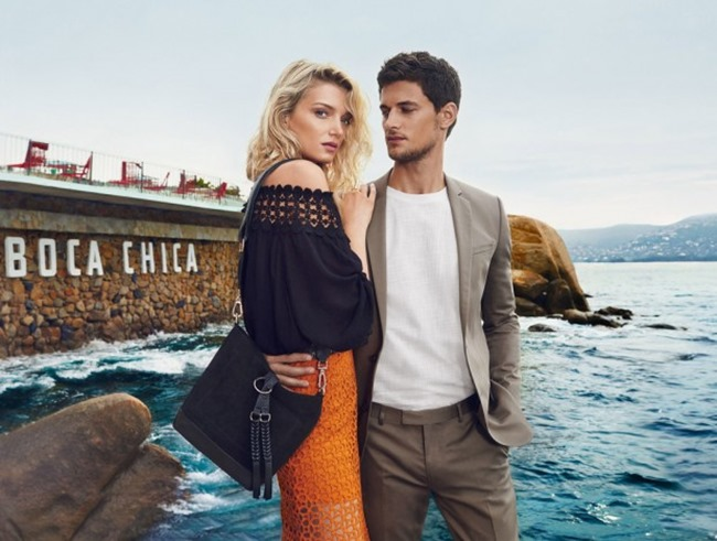 CAMPAIGN Garrett Neff & Lily Donaldson for River Island Spring 2016 by Emma Summerton. Edward Enninful, www.imageamplified.com, Image Amplified (2)
