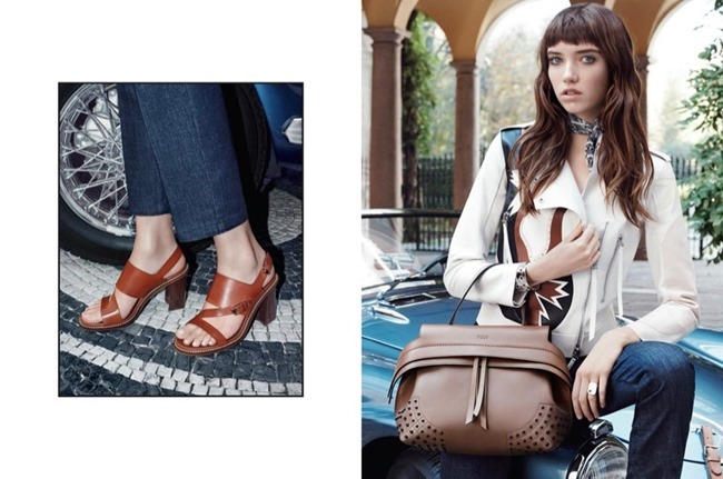CAMPAIGN Grace Hartzel for Tod's Spring 2016 by Michelangelo di Battista. www.imageamplified.com, Image Amplified (1)