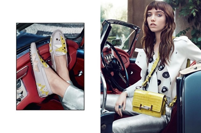 CAMPAIGN Grace Hartzel for Tod's Spring 2016 by Michelangelo di Battista. www.imageamplified.com, Image Amplified (3)