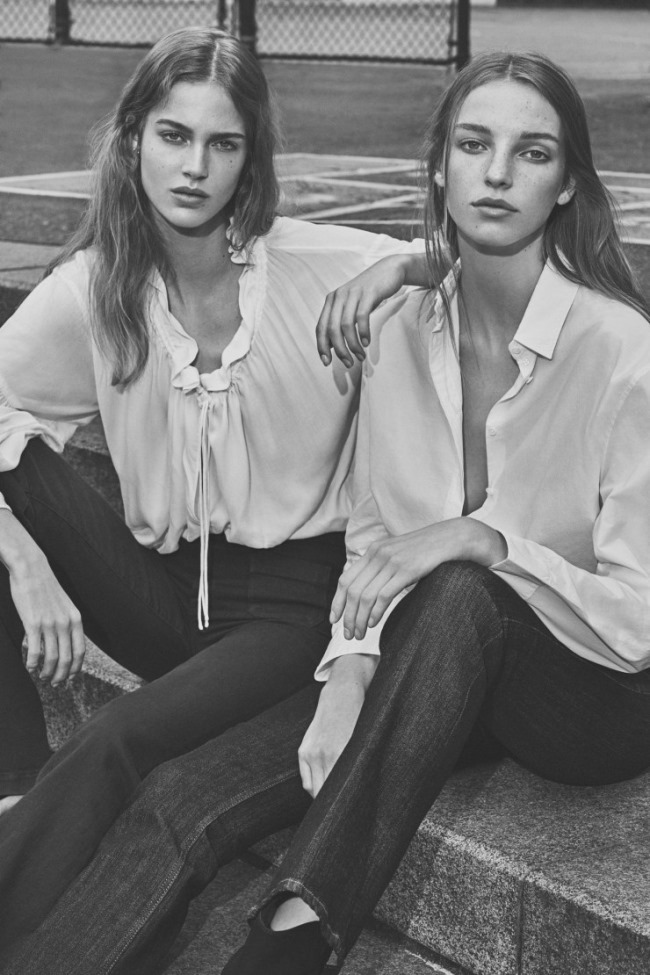 W MAGAZINE Jamilla Hoogenboom & Julia Jamin by Emma Tempest. Ethel Park, March 2016, www.imageamplified.com, Image Amplified (1)