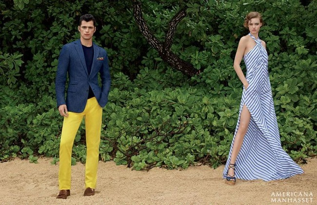 CATALOGUE Sean O'Pry & Lindsey Wixson for Americana Manhasset Spring 2016. www.imageamplified.com, Image Amplified (38)