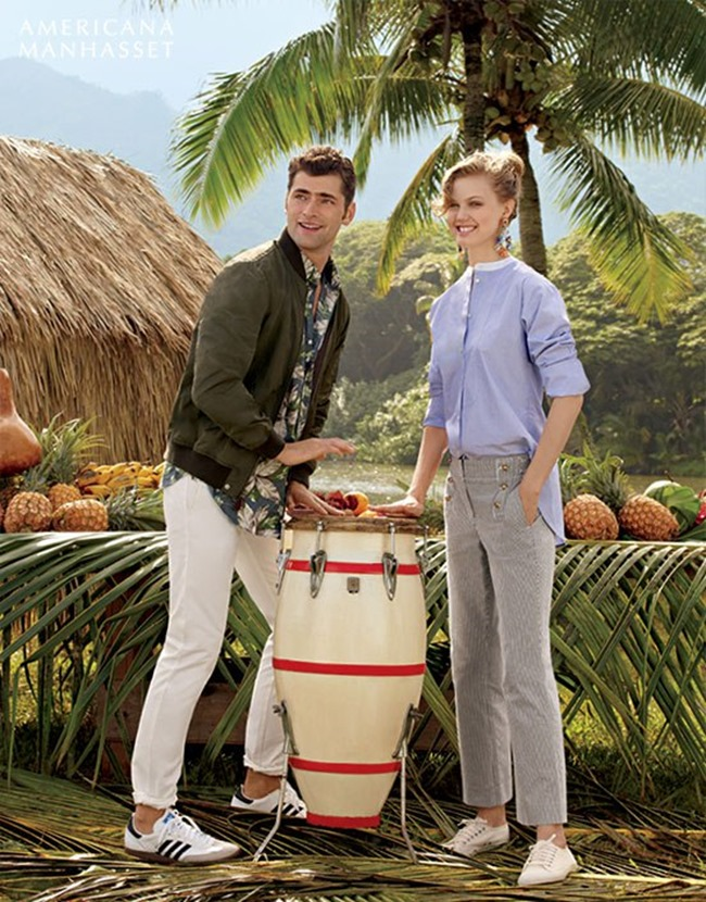 CATALOGUE Sean O'Pry & Lindsey Wixson for Americana Manhasset Spring 2016. www.imageamplified.com, Image Amplified (39)
