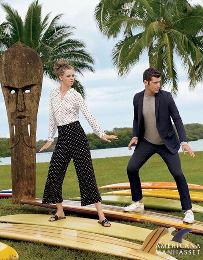CATALOGUE Sean O'Pry & Lindsey Wixson for Americana Manhasset Spring 2016. www.imageamplified.com, Image Amplified (42)
