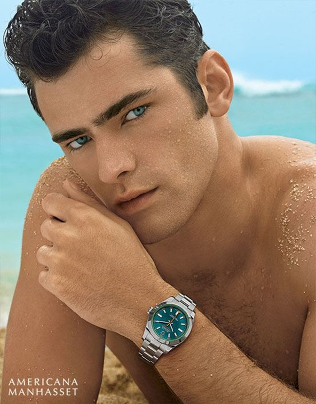 CATALOGUE Sean O'Pry & Lindsey Wixson for Americana Manhasset Spring 2016. www.imageamplified.com, Image Amplified (43)