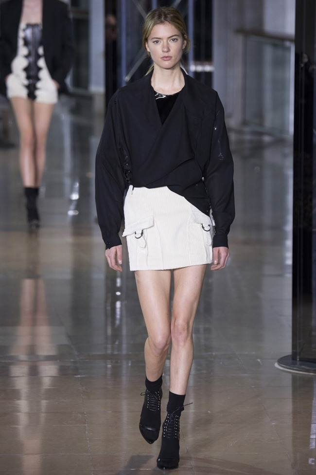 PARIS FASHIONW WEEK Anthony Vaccarello Fall 2016. www.imageamplified.com, Image Amplified (35)