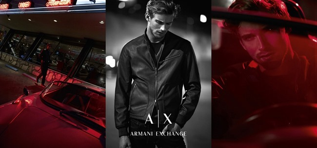CAMPAIGN Luke Worrall & RJ King for Armani Exchange Spring 2016 by Riccardo Vimercati. www.imageamplified.com, image Amplified (3)