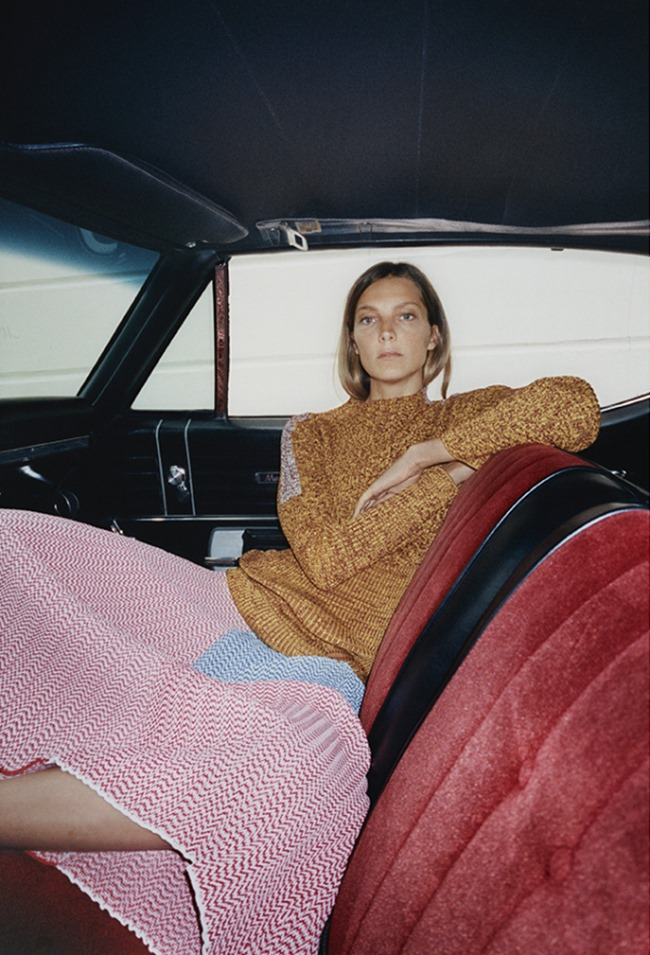 CAMPAIGN Daria Werbowy for Celine Resort 2015 by Tyrone Lebon, www.imageamplified.com, Image Amplified (2)