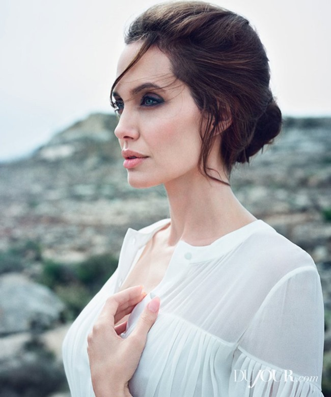 DUJOUR MAGAZINE Angelina Jolie & Jack O'Connell by Francesco Carrozzini. Fall 2014, www.imageamplified.com, Image Amplified (12)