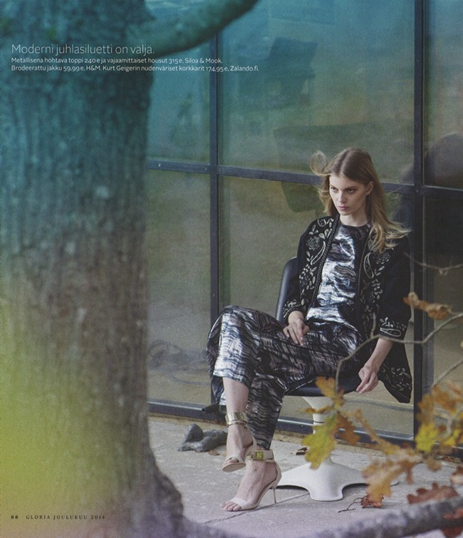 GLORIA MAGAZINE Saara Sihvonen by Miikka Lommi. Mia Dillemuth, Fall 2014, www.imageamplified.com, Image Amplified (3)