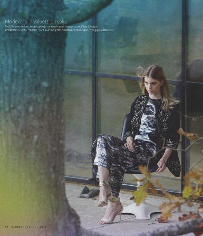 GLORIA MAGAZINE Saara Sihvonen by Miikka Lommi. Mia Dillemuth, Fall 2014, www.imageamplified.com, Image Amplified (3)