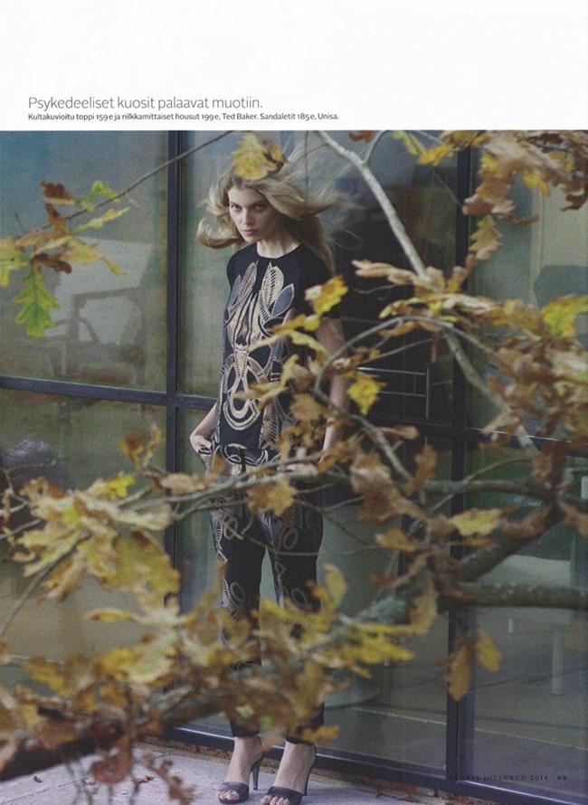GLORIA MAGAZINE Saara Sihvonen by Miikka Lommi. Mia Dillemuth, Fall 2014, www.imageamplified.com, Image Amplified (5)