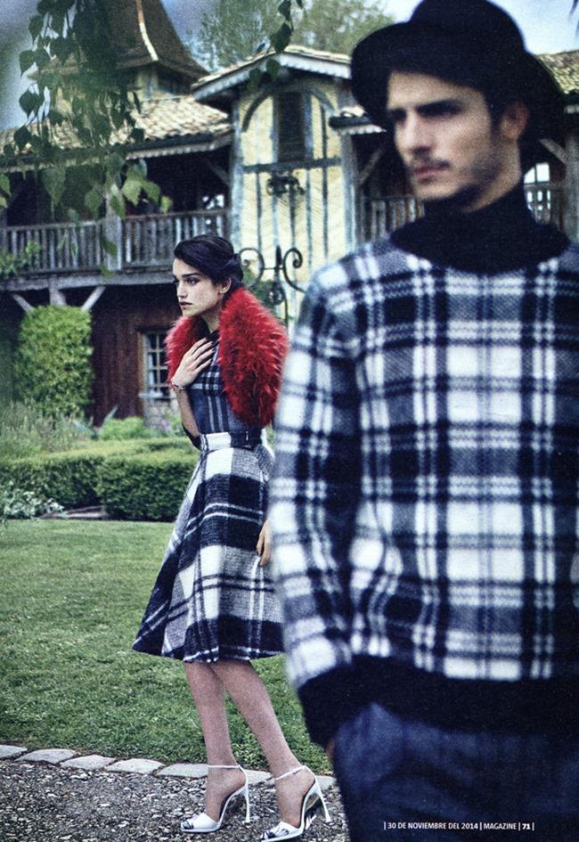 LA VANGUARDIA MAGAZINE Carolina Gonzalez & Alexander Ardid by Pep Avila. November 2014, www.imageamplified.com, Image Amplified (4)