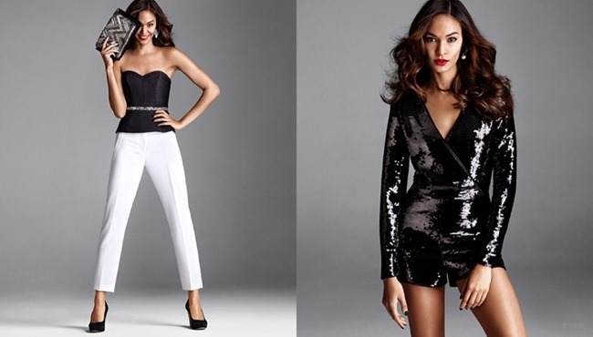 CAMPAIGN Joan Smalls for H&M Holiday 2014. www.imageamplified.com, Image Amplified (5)