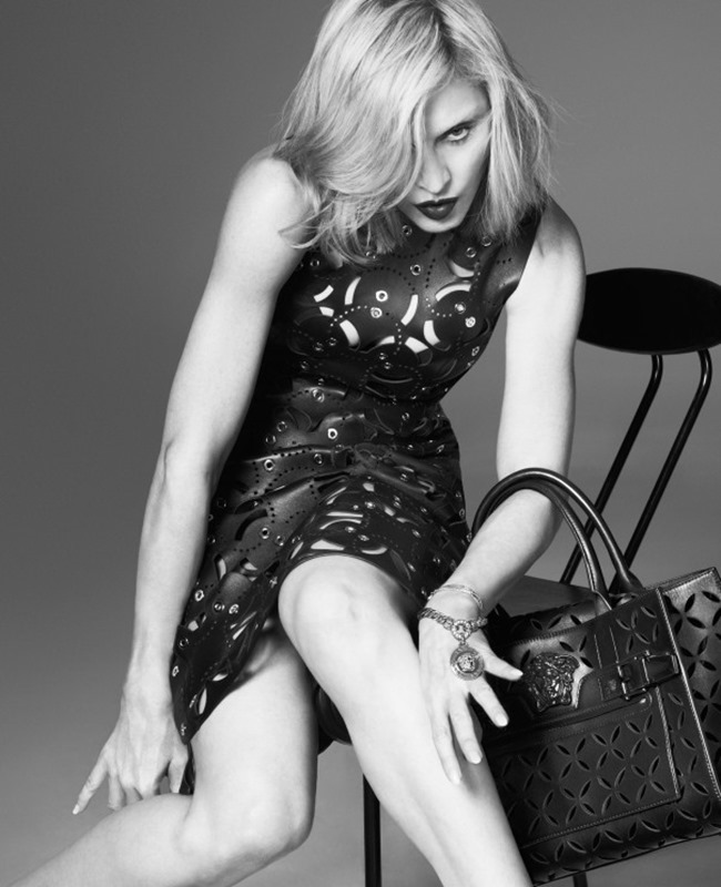 CAMPAIGN Madonna for Versace Spring 2015 by Mert & Marcus. Jacob K, www.imageamplified.com, Image Amplified (2)