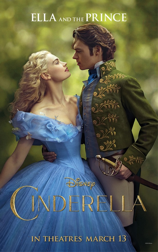 CINEMA SCAPE Helena Bonham Carter, Cate Blanchett, Lily James & Richard Madden in Cinderella Posters, www.imageamplified.com, Image Amplified (2)
