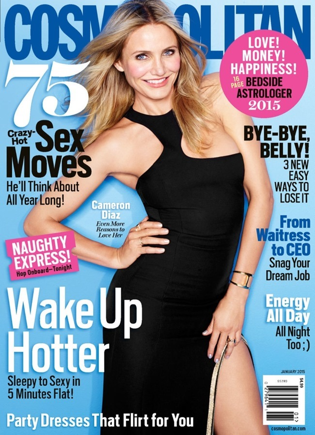 COSMOPOLITAN MAGAZINE Cameron Diaz by Matthias Vriens-McGrath. January 2015, www.imageamplified.com, Image Amplified (2)