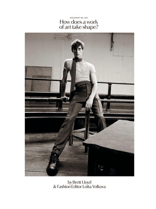 DOCUMENT JOURNAL Rogler Bosschaart & Haavard Kleppe by Brett Lloyd. Lotta Volkova, Fall 2014, www.imageamplified.com, Image Amplified (12)