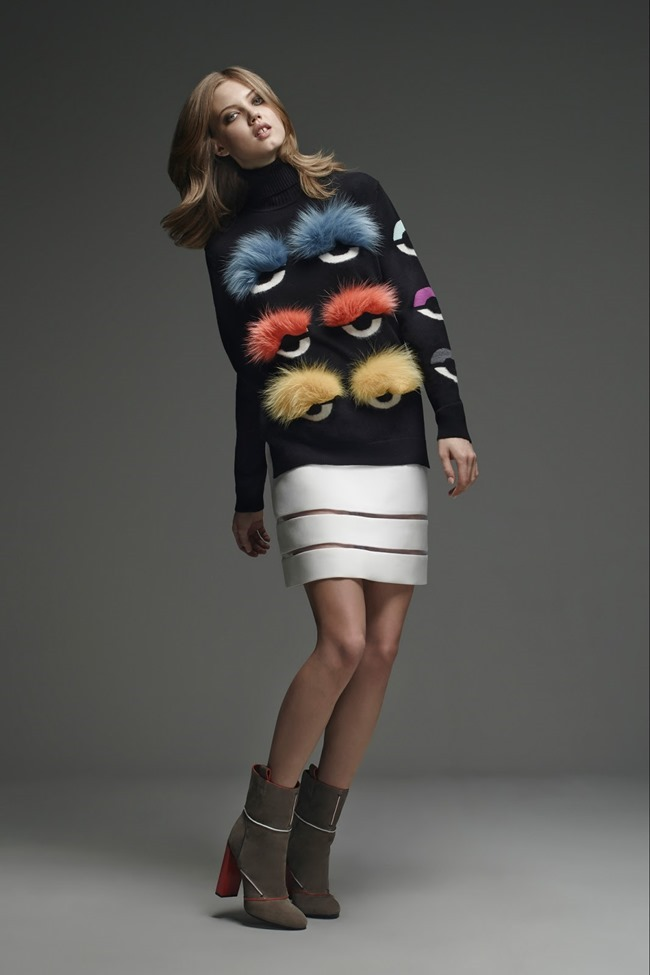 COLLECTION Lindsey Wixson for Fendi Pre-Fall 2015. www.imageamplified.com, Image Amplified (28)