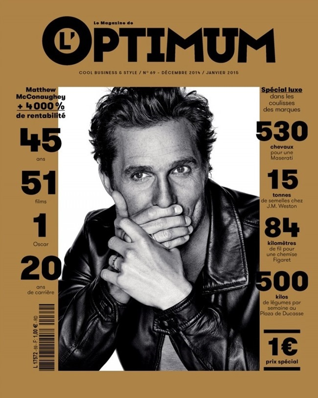 L'OPTIMUM MAGAZINE MattheConaughey by Eric Ray Davidson. January 2015, www.imageamplified.com, Image Amplified (1)