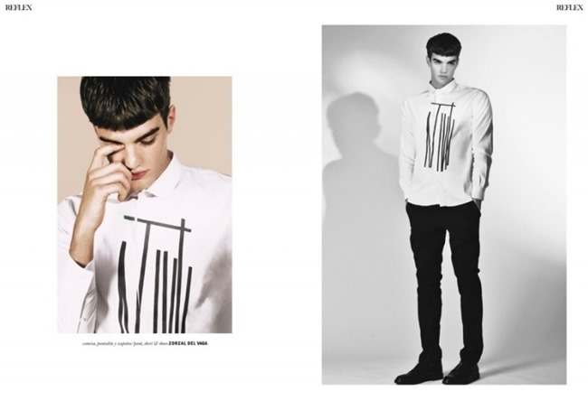 REFLEX HOMME Marcos Bulacio by Ari Mendes. Mena Galeano, Fall 2014, www.imageamplified.com, Image Amplified (3)