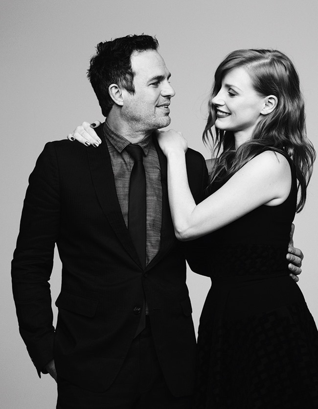 VARIETY MAGAZINE Jessica Chastain & Mark Ruffalo by Ben Hassett. December 2014, www.imageamplified.com, Image Amplified (1)