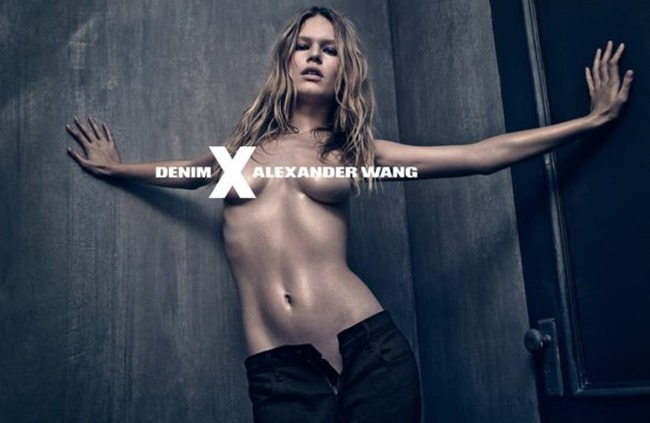 CAMPAIGN Anna Ewers for Alexander Wang Denim Spring 2015 by Steven Klein. www.imageamplified.com, Image Amplified (2)