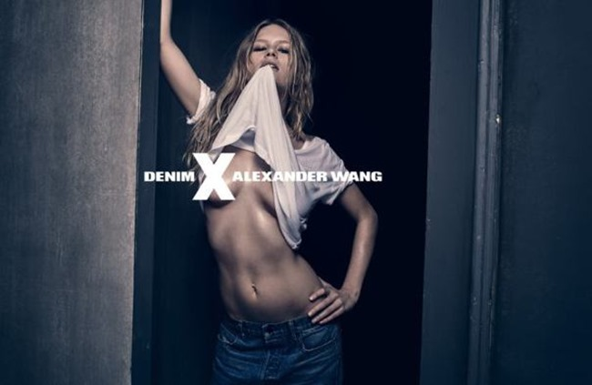 CAMPAIGN Anna Ewers for Alexander Wang Denim Spring 2015 by Steven Klein. www.imageamplified.com, Image Amplified (3)