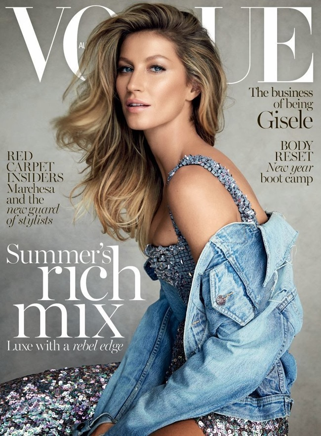VOGUE AUSTRALIA Gisele Bundchen by Patrick Demarchelier. Christine Centenera, January 2015, www.imageamplified.com, Image Amplified (4)