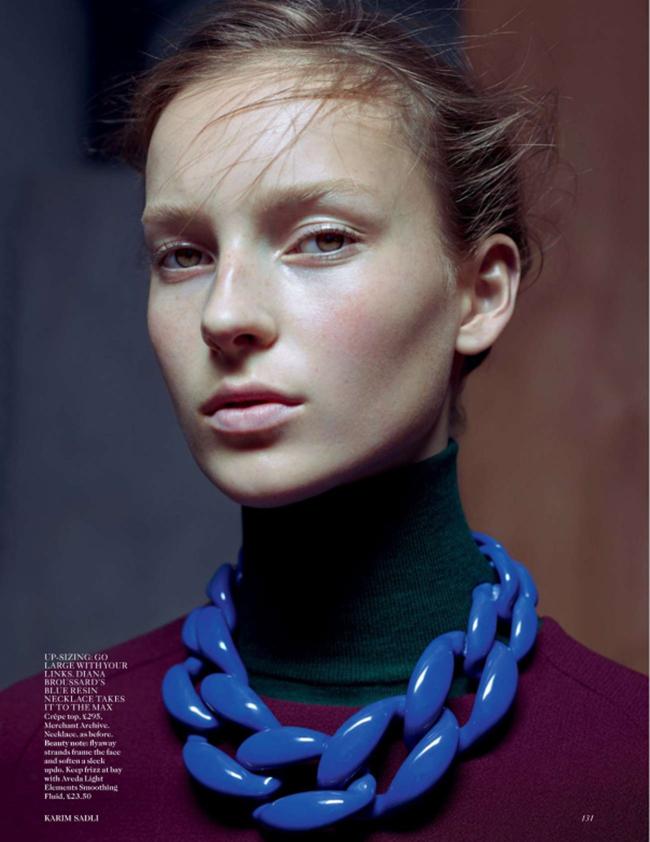 VOGUE UK Julia Bergshoeff by Karim Sadli. Lucinda Chambers, January 2015, www.imageamplified.com, Image Amplified (8)