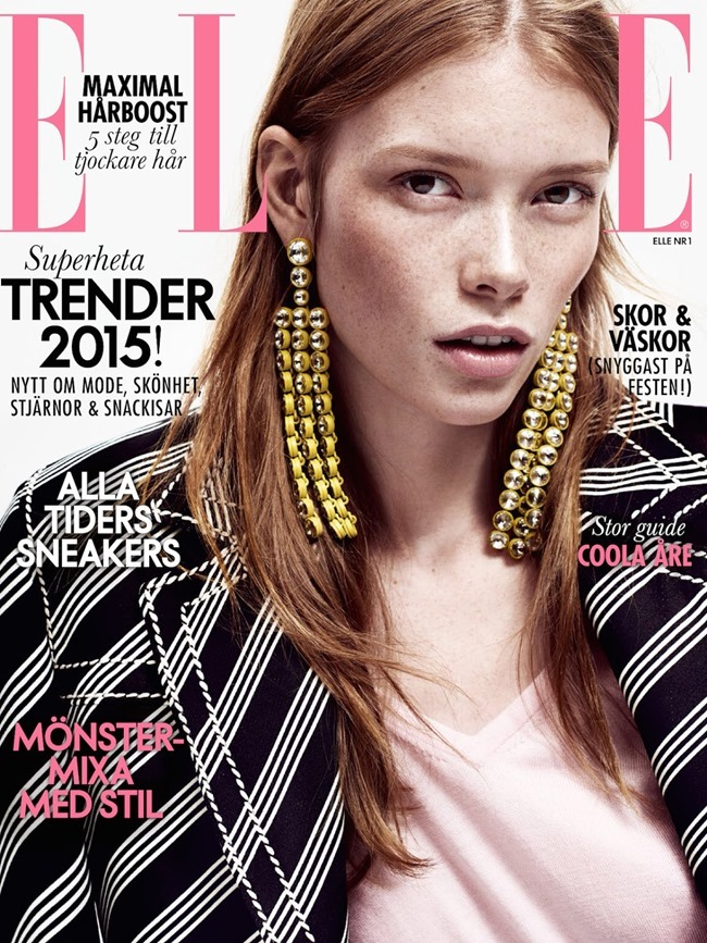 ELLE SWEDEN Julia Hafstrom by Honer Akrawi. Josephine Aune, January 2015, www.imageamplified.com, Image Amplified (3)