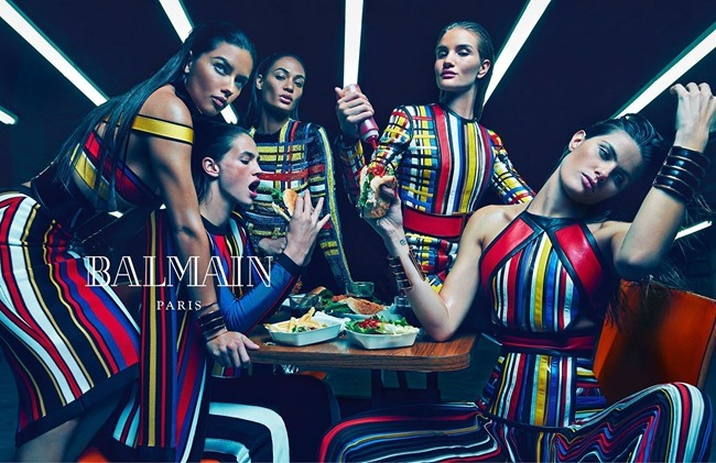 CAMPAIGN Balmain Spring 2015 by Mario Sorrenti. Pascal Dangin, www.imageamplified.com, Image Amplified (2)