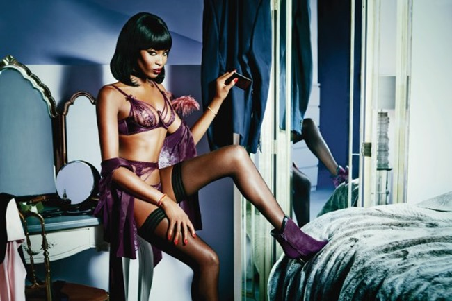 CAMPAIGN Naomi Campbell for Agent Provocateur Spring 2015 by Ellen von Unwerth. www.imageamplified.com, Image Amplified (5)