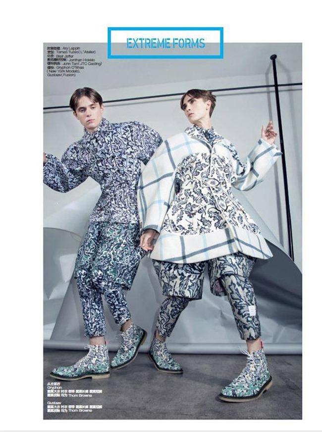 GQ STYLE CHINA Gustaaf Wassink & Gryphon O'Shea by Charlie Engman. Haidee Findlay-Levin, Fall 2014, www.imageamplified.com, Image amplified (7)