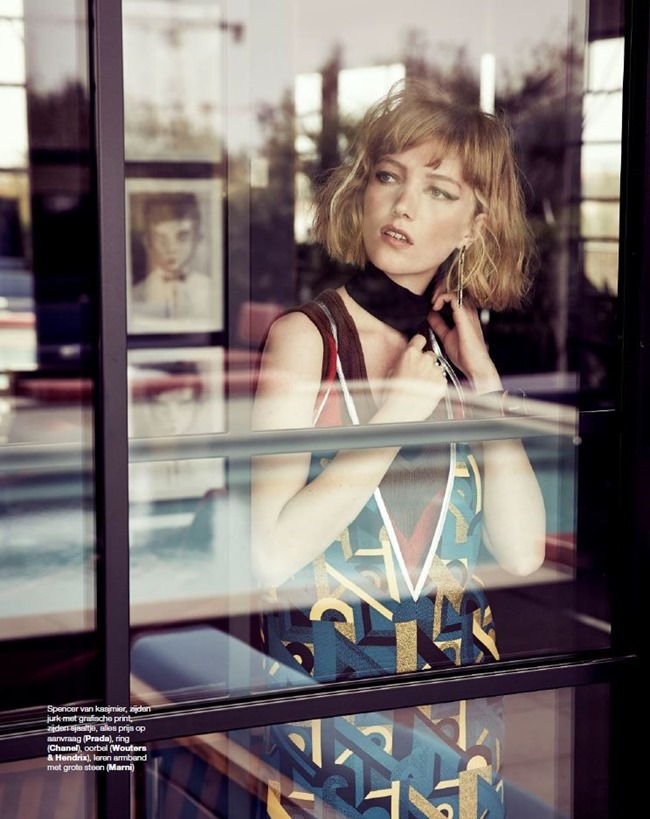 MARIE CLAIRE NETHERLANDS Lou Schoof by Hans Van Brakel. Simine Dernee, January 2015, www.imageamplified.com, Image Amplified (3)