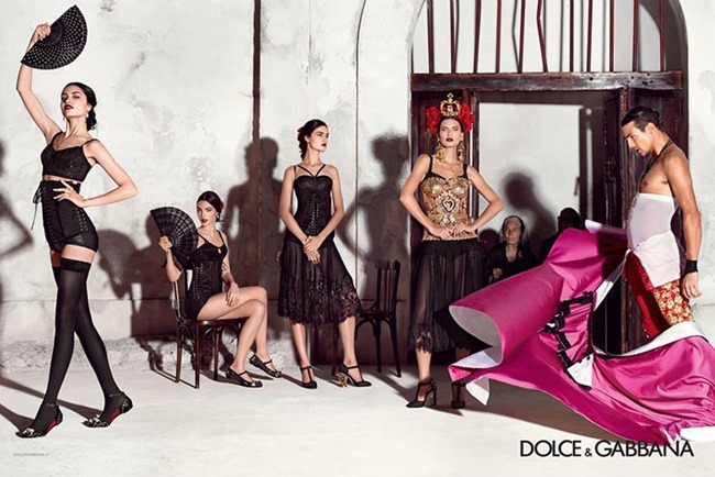 CAMPAIGN Dolce & Gabbana Sprring 2015 by Domenico Dolce. www.imageamplified.com, Image Amplified (6)