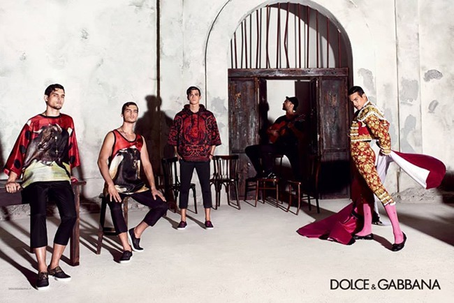 CAMPAIGN Dolce & Gabbana Sprring 2015 by Domenico Dolce. www.imageamplified.com, Image Amplified (2)