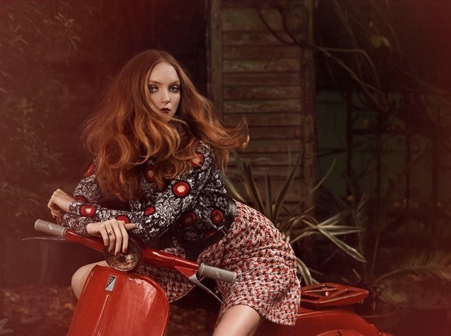 GLAMOUR ITALIA Lily Cole by Signe Vilstrup. Sascha Lillic, January 2015, www.imageamplified.com, Image Amplified (8)