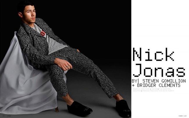 KODE MAGAZINE Nick Jonas by Steven Gomillion & Bridger Clements. Allan Troy & Chanel Gibbons. Fall 2014, www.imageamplified.com, Image Amplified (2)
