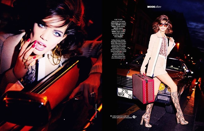 MADAME FIGARO FRANCE Rianne Ten Haken by Ellen von Unwerth. Cecile Martin, December 2014, www.imageamplified.com, Image Amplified (9)