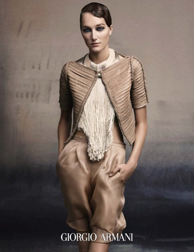 PREVIEW Josephine Le Tutour for Giorgio Armani Spring 2015 by Solve Sundsbo. www.imageamplified.com, Image Amplified (2)