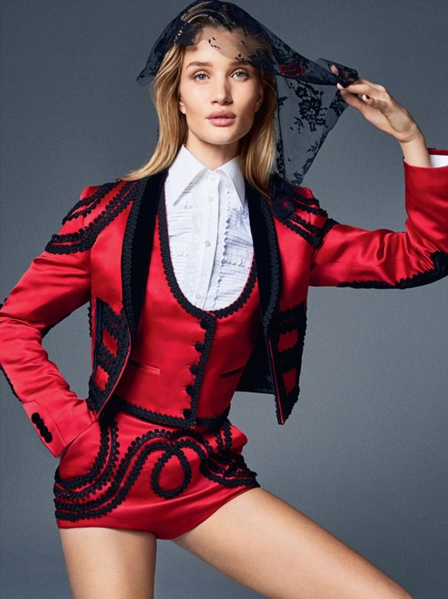 ELLE UK Rosie Huntington-Whiteley by Kai Z Feng. Anne-Marie Curtis, February 2015, www.imageamplified.com, Image Amplified (1)
