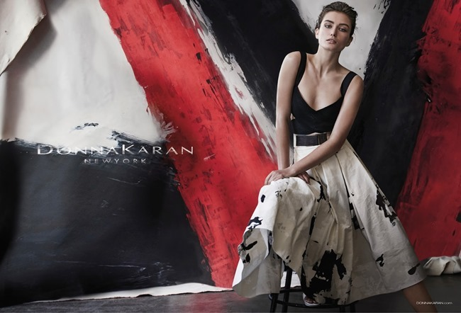 CAMPAIGN Andreea Diaconu for Donna Karan Spring 2015 by Peter Lindbergh. www.imageamplified.com, Image Amplified (1)