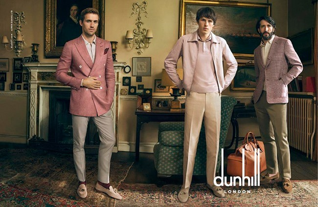 CAMPAIGN Andrew Cooper, Alex Blamire & Louis Eliot for Dunhill Spring 2015 by Annie Leibovitz. www.imageamplified.com, Image Amplified (1)