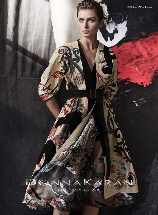 CAMPAIGN Andreea Diaconu for Donna Karan Spring 2015 by Peter Lindbergh. www.imageamplified.com, Image Amplified (5)