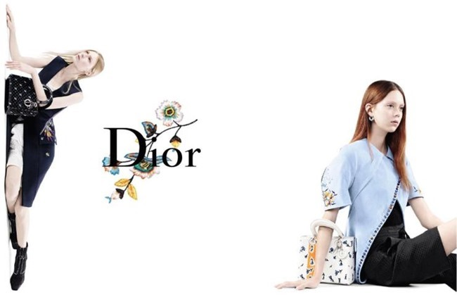CAMPAIGN Julia Nobis, Natalie Westling & Lexi Boling for Dior Spring 2015 by Willy Vanderperre. www.imageamplified.com, Image Amplified (3)