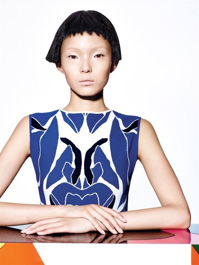 VOGUE CHINA Xiao Wen Ju by Richard Burbridge. Franck Benhamou, January 2015, www.imageamplified.com, Image Amplified (1)