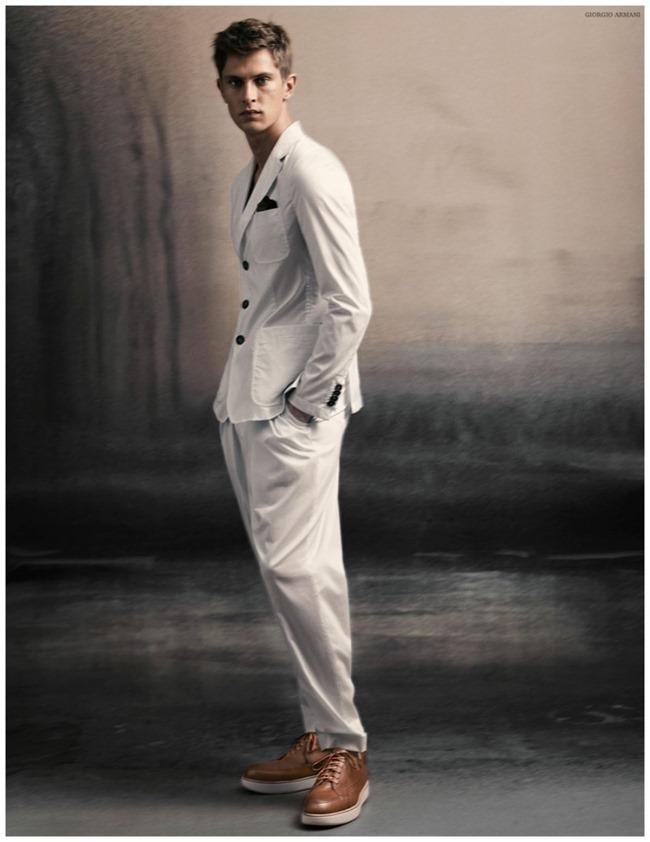 CAMPAIGN Mathias Lauridsen for Giorgio Armani Spring 2015 by Solve Sundsbo. www.imageamplified.com, Image Amplified (2)