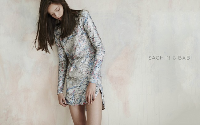 CAMPAIGN Yumi Lambert for Sachin & Babi Spring 2015 by An Le. Leith Speer Barton, www.imageamplified.com, Image Amplified (7)
